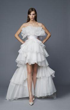 Vestido de noiva   Coleção Flying Away de Antonio Riva - Portal iCasei Casamentos