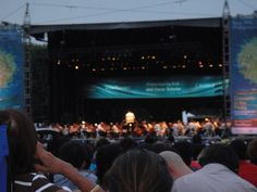 New York Philharmonic free concert in the Park.