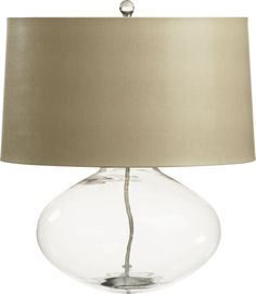 Jack Table Lamp in Table, Crate and Barrel
