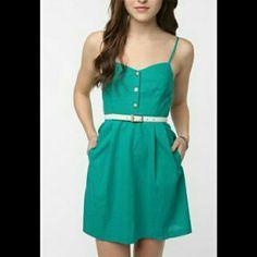 Uo Green Dress