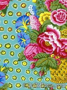 Fabric design: Kaffe Fassett