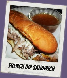 FoodThoughtsOfaChefWannabe- French Dip Sandwich with Au Jus