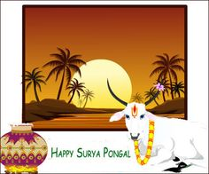 Dgreetings - Send this great card on Pongal to your family members.