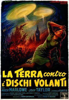 La Terra contro i Dischi Volanti (Earth vs. the Flying Saucers), 1956