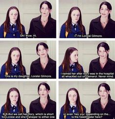 Honestly probably when I am a mother 😂 Rory Gilmore, Gilmore Girls Quotes, Amy Sherman Palladino, Best Tv Shows, Best Shows Ever, Favorite Tv Shows, Lauren Graham, Milo Ventimiglia, Alexis Bledel
