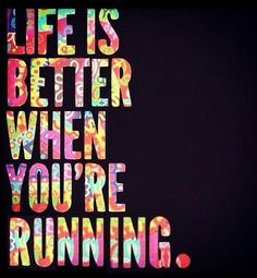 I have recently gotten into running. I love running because I have found it a great stress relief, and something that challenges me.