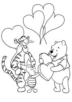 Winnie the Pooh Coloring Pages . 30 Winnie the Pooh Coloring Pages . Free Printable Winnie the Pooh Coloring Pages for Kids Printable Valentines Coloring Pages, Birthday Coloring Pages, Valentines Day Coloring Page, Disney Coloring Pages, Coloring Pages To Print, Printable Coloring Pages, Coloring For Kids, Coloring Pages For Kids, Adult Coloring