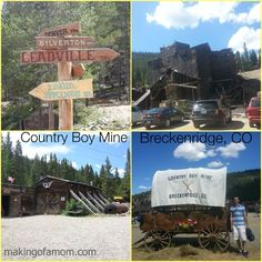 Country Boy Mine Tour + Panning for Gold – Breckenridge, MO @GoBreck @CountryBoyMine