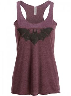 """Bat"" Loose Fit Tank by Pretty Attitude   Inked Shop #inked #inkedshop…"