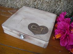 Engraved GUEST BOOK ALTERNATIVE Rustic by dazzlingexpressions, $59.00