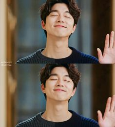 "Gong Yoo as ""Kim Shin"" in ""Goblin: The Lonely and Great God."" BEST. DRAMA. EVER."
