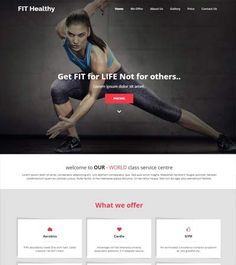Healthy-fitness-HTML5-template