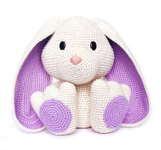 Easter BUNNY Crochet Pattern by RoKiKi on Etsy