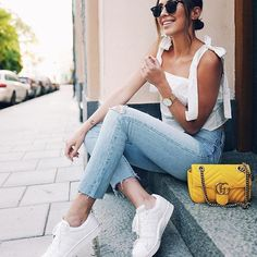 30 Best Summer Outfits Stylish and Comfy Casual Fashion Trends Collection. Love this outfit. The Best of summer outfits in Style Outfits, Sexy Outfits, Trendy Outfits, Cool Outfits, Fashion Outfits, Womens Fashion, Fashion Trends, Ootd Fashion, Fashion Ideas