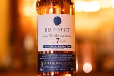 Blue Spot makes a return after 56 years   The Whiskey Companion Irish Whiskey Brands, Whiskey Blue, Jameson Distillery, Wine Cask, Sweet Spice, Pot Still, Bourbon Barrel, Wine And Spirits