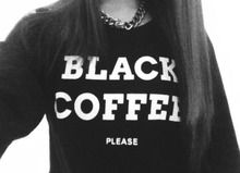 Fashion - Fashion streetstyle - Inspiration - Trending - Trend - 2014 - Spotted - Blogger - Celebs - Celebrity - Hot right now - Catwalk trends - Spot & Shop - Outfit - Ootd - Logo mania - Statement - Shirt - Top - Sweater - Black Coffee Please