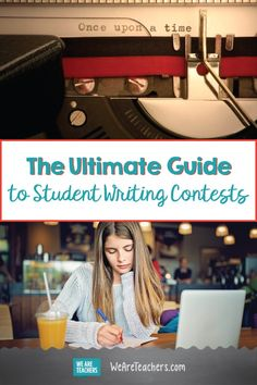 Find a huge list of student writing contests here for your secondary ELA students! Give your students an authentic audience with these fun writing contests. Cool Writing, Kids Writing, Teaching Writing, Writing Activities, Writing Ideas, Writing Resources, Teaching Strategies, Creative Writing, Teacher Resources