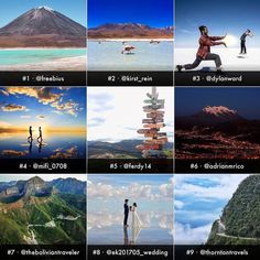 This is it! The most popular photos of 2017!Happy new year!  #destinationBolivia2018  Aquí están! Las fotos más populares del 2017! Feliz año nuevo!  #destinoBolivia2018  congrats to @freebius @kirst_rein @dylanward @mifi_0708 @ferdy14 @adrianmrico @theboliviantraveler @ek201705_wedding @thorntontravels  for their #Fabulous photos  join us and let's continue to #explorebolivia together  #thisisbolivia#estoesbolivia #unboliviable #placetobe #placetogo #wanderlust#wanderer #Bolivia…