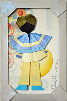 """Pierrot na Moldura"", Vera Young."