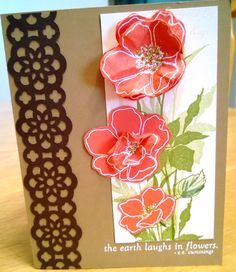 Fabulous Florets stamp set from Stampin' Up.