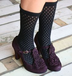 SOUR GRAPE :: CHAUSSURES :: CHIE MIHARA SHOP ONLINE (nix the sox and these are perfect)