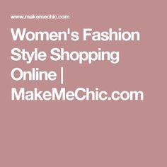 Women's Fashion Style Shopping Online | MakeMeChic.com