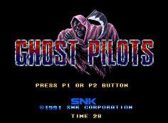 Ghost Pilots Neo Geo Title