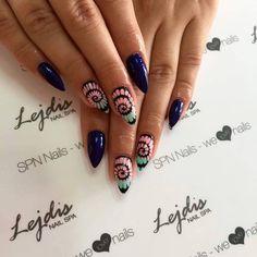 SPN UV LaQ 607 Baby mint, 614 Miss wanted, 659 Illusion Nails by Alesia, Lejdis, SPN Team Zielona Góra