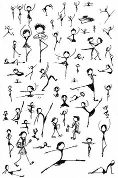 stick people