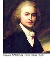 John and Abigail's son, John Quincy Adams, 6th President of the USA