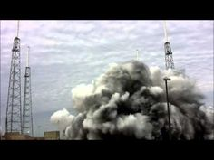 Feel the Power of a Mighty Falcon 9 Blast Off Creaming Cameras