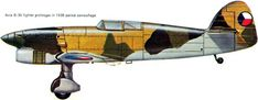 Avia B.35 Close Image, World War Ii, Techno, Fighter Jets, Pilot, Aviation, Aircraft, Arrow Keys, Palette