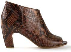 Maison Martin Margiela snakeskin booties on shopstyle.com