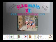 """VÍDEO - """"Los tres cerditos"""" de Disney.    Vídeo-Cuento de los 3 cerditos, adaptado por con pictogramas de ARASAAC. Gif Disney, Videos, Storytelling, Spanish, Technology, Youtube, Autism, Tech, Spanish Language"""