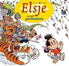Het stripalbum 'Elsje maakt geschiedenis' uit de Elsje-reeks van Eric Hercules en Gerben Valkema heeft op de Boekenbeurs in Antwerp Expo de Willy Vanderste...