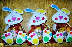 Preschool Report Card Gifts Idea - Preschool and Kindergarten Easter Crafts For Toddlers, Bunny Crafts, Easter Crafts For Kids, Christmas Crafts For Kids, Toddler Crafts, Kindergarten Christmas Crafts, Preschool Gifts, Gifts For Kids, Easter Bunny