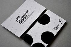 business card - life is graphic design
