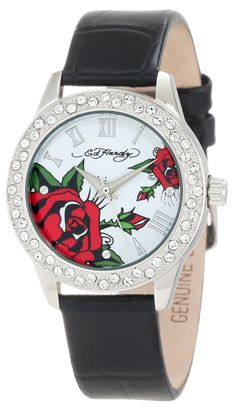 Ed Hardy Women's VA-LTD Valerie Limited Watch