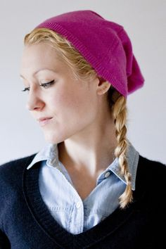 Tutorial: Make a Hat from a Sweater