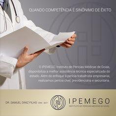 Email MKT de apresentação da marca Ipemego, do Dr. Samuel Diniz. Projeto: Branding designer: Priscila Áquila