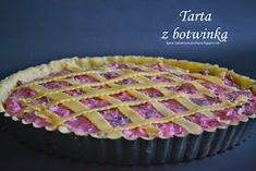 Kawa cynamonem pachnąca: TARTA Z BOTWINKĄ Pie, Desserts, Food, Pies, Torte, Tailgate Desserts, Cake, Deserts, Fruit Cakes