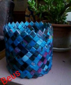 newspaper basket