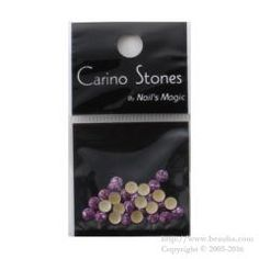 http://www.beauba.com/products/detail.php?product_id=14062 Nails Magic Carino Stones Marble Color Marble Purple 4mm. #Nails #NailArt/stones  Domed marble stone. Sticks well with Hot Fix type.