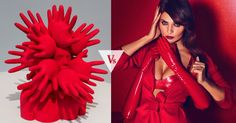 Art #VsFashion: Red Hands ft. Ivan Prieto, @HunterAndGatti