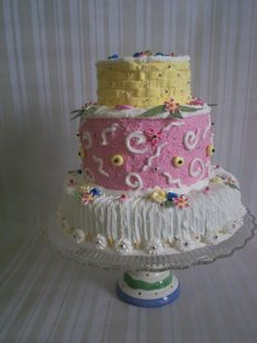 Your place to buy and sell all things handmade Fall Birthday Cakes, Birthday Fun, Birthday Ideas, Colorful Centerpieces, Colorful Decor, Little Girl Birthday, Little Girl Rooms, Birthday Centerpieces, Beautiful Cakes
