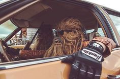 Wookie Pimpin' Source: spaceghostzombie