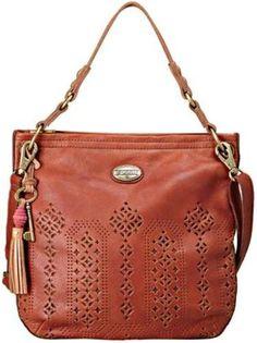 Fossil Handbag, Campbell Leather Hobo - Hobo Bags - Handbags & Accessories - Macy's - purses and handbags, large handbags sale, accessories for handbags Fashion Handbags, Purses And Handbags, Fashion Bags, Leather Handbags, Leather Bag, Satchel Handbags, Fossil Handbags, Fossil Bags, Fossil Purses