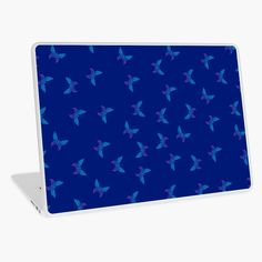 """""""Butterflies dotted pattern"""" Laptop Skin by cool-shirts 