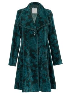 Teal swing coat from Nomads