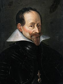 Maximilian I, Elector of Bavaria (1573-1651) Son of William V Duke of Bavaria and Renata of Lorraine. Husband to Elisabeth of Lorraine and Maria Anna of Austria. Mentally well endowed, Maximilian received a strict Catholic training from private tutors and later (1587-91) studied law, history, and mathematics at the University of Ingolstadt. He further increased his knowledge by visits to foreign courts, as Prague and Naples, and to places of pilgrimage including Rome, Loretto, and…